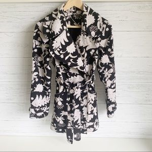 Lululemon Studio Trench Tropical Floral Print